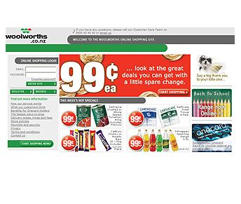 woolworth-website #ecommercewebsite design