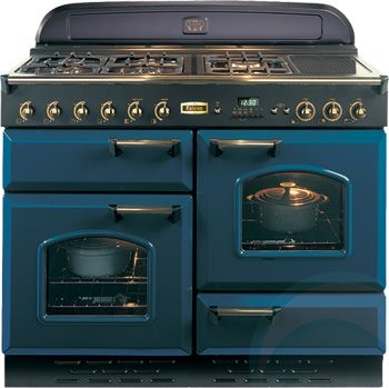 Beautiful stove, reminds us of Aga. Freestanding Falcon Gas Oven/Stove CLAS110NGFRB-BR