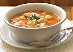 O Chefe Tuga - Receitas de Culinária: Sopa de Garoupa com açafrão