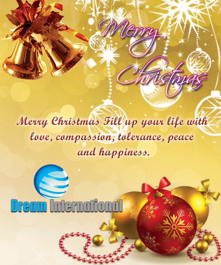 Wish We Happy Merry Christmas All Over World