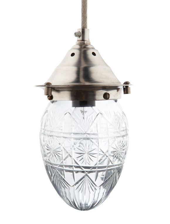 Ideal Kleine geschliffene Glaslampe passt gut zu modernem Design geeignet f r die K che das Bad und den Essbereich Leuchtmittel nicht im Lieferumfang