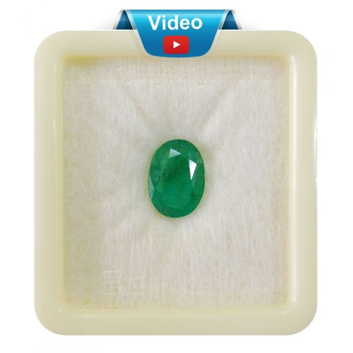 Buy Natural Emerald Sup-Pre 3+ 2.2ct from http://bit.ly/2tc5jmW Zambian Emeralds.