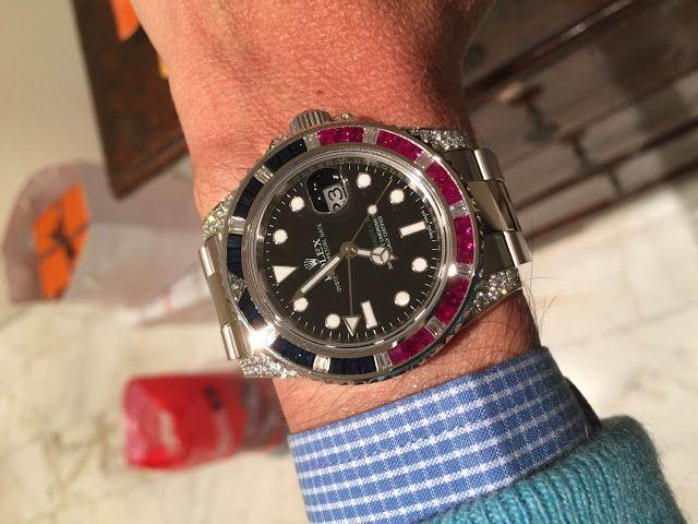 Replicas De Relojes Rolex GMT-Master II 116759 SARU Revisión