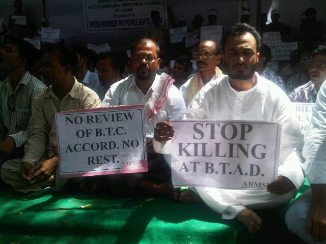 Dharna in Delhi to press for quick and long-term resolution of Assam issues
