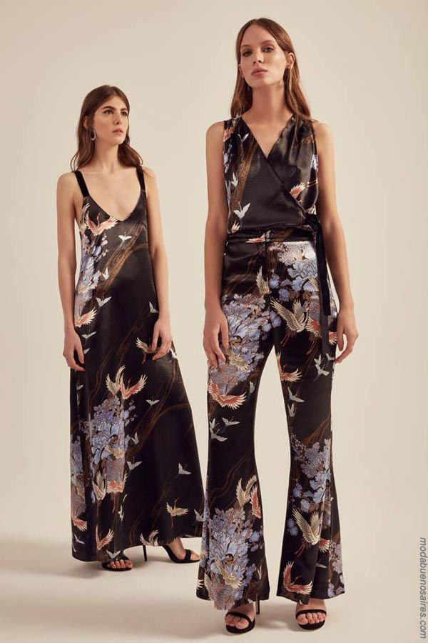 Moda primavera verano 2019 argentina vestidos