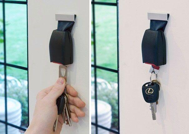 20 porte clés et boîtes à clés originaux   20 porte cles boite a clef originaux ceinture de securite