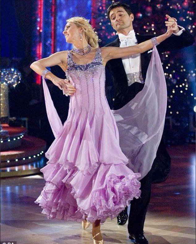 Winners of Strictly Come Dancing 2008. Tom Chambers and Camilla Dallerup.