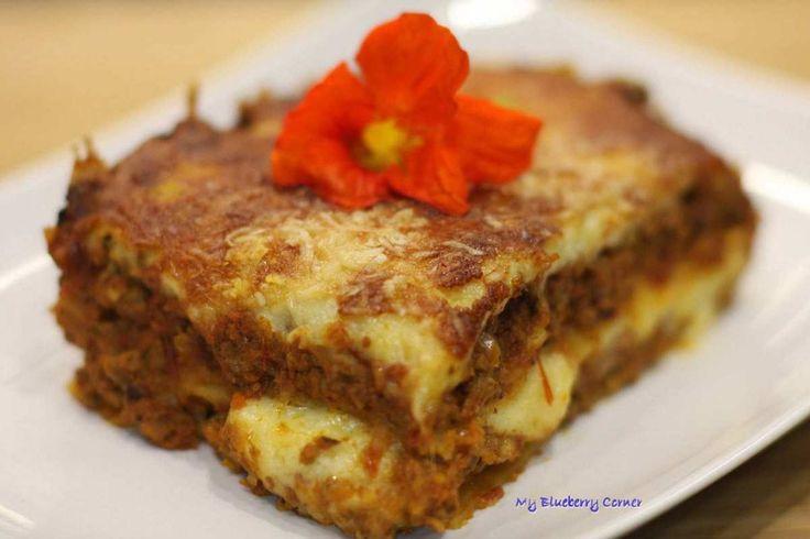 Lazania po bolońsku (Lasagne alla Bolognese) - My Blueberry Corner