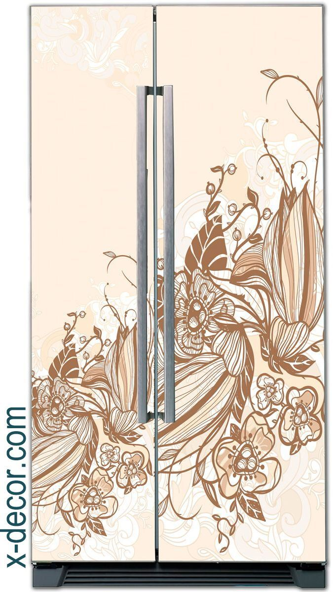 Fridge Sticker – Flower fantasy
