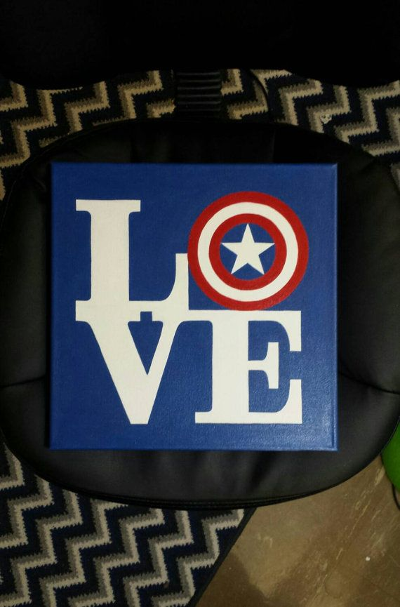 Hey, I found this really awesome Etsy listing at https://www.etsy.com/listing/219920094/captain-america-handpainted-canvas