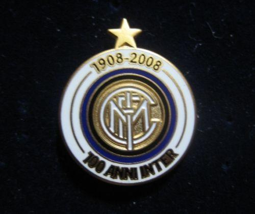 """INTER FC DISTINTIVO CELEBRATIVO """"100 ANNI"""" INTROVABILE"""