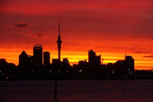 No more Auckland skyline for a few days. Manawatu, here I come. Photo: Su Leslie 2012