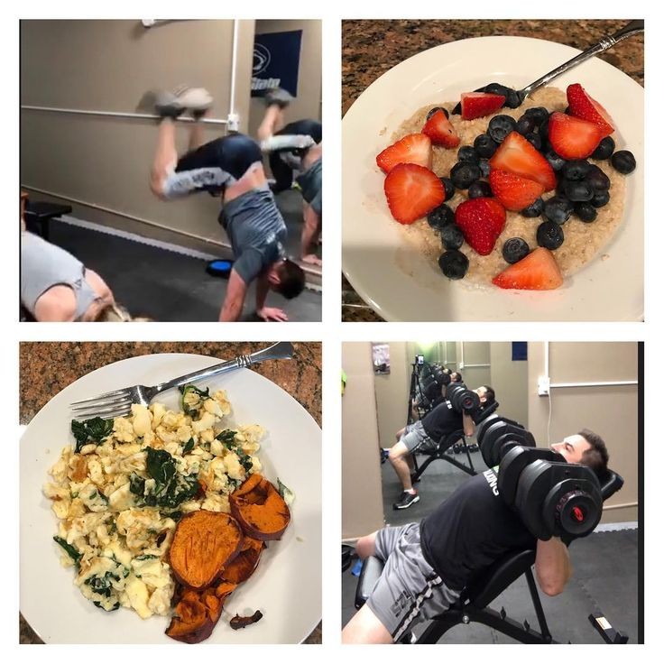 2 workouts this past Saturday.  One cardio #mulekicks #hello and then #chest #shoulders and #triceps  Tried some pan seared #sweetpotato with my eggs and spinach and of course some #coachesoats  I guess I truly am becoming a #fitnessaddict 😁😜💪🏻  .  .  .  #fitdad #fitlife #fitnessjourney #lovetolift #fitfam #fithusband #buildmuscle #getinshape #gethealthy #exercise #fitness  #getbbettereveryday #soccerdad #pennstatealumni #father #dad #fitforlife #fitat40