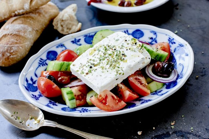 Klassisk Grekisk sallad