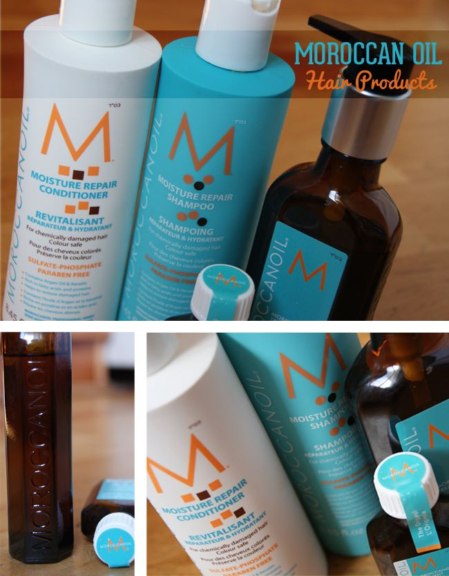 Moroccan Oil Hair Products pinner writes My secret to healthy hair; MoroccanOil