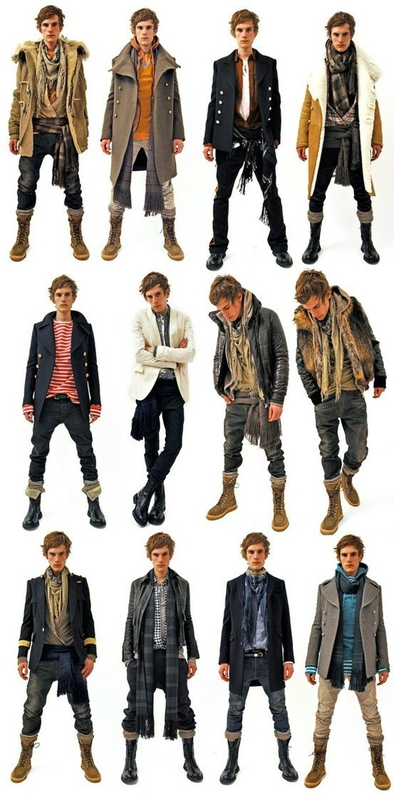 kinda reminds me of a modern day pirate. Id love to have my boyfriend/fiance/husband dress like this