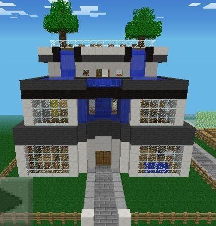 Modern Home Architecture Minecraft