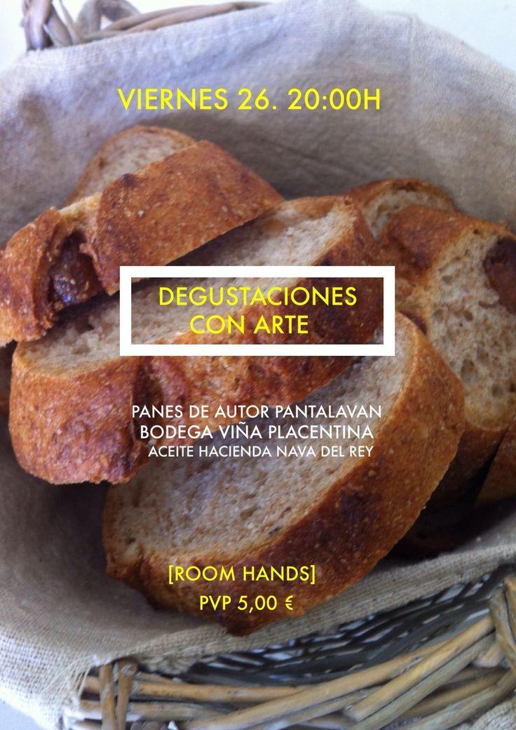 ¡Disfruta de la #gastronomia en #Caceres! Degustación de pan, vino y aceite en Roomhands