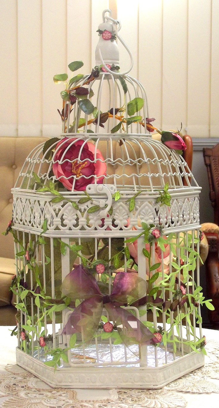234 best images about shabby bird houses and cages on for Cage d oiseau decorative