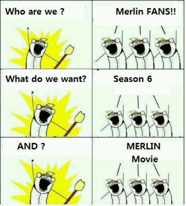 This just needs a repin. Thus is me and my fellow Merlin fans, when we all meet one day.