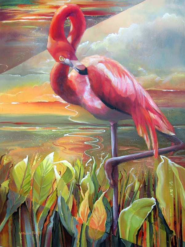 Carolyn Ritter: Pink Flamingos, Pretty Flamingos, Carolyn Ritter