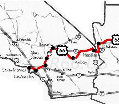Mojave Desert Route 66