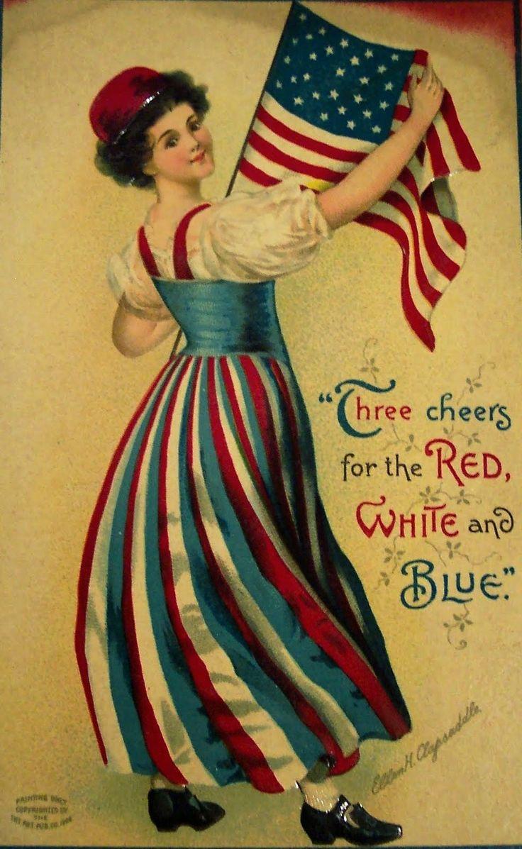 1000 Images About Vintage 4th Of July On Pinterest God