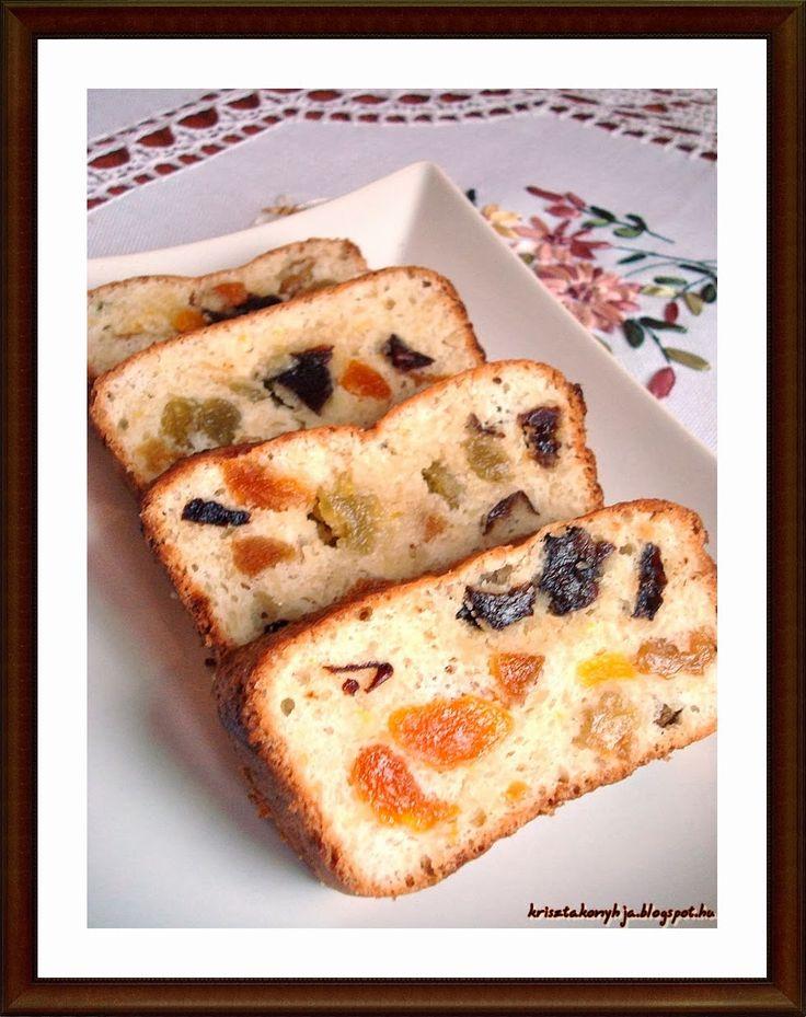 Kriszta konyhája- Sütni,főzni bárki tud!: Paleo gyümölcskenyér