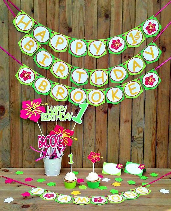 17 Best Ideas About Hawaiian Party Supplies On Pinterest