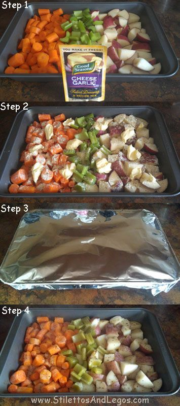 Easy-Cook Vegetables Recipe