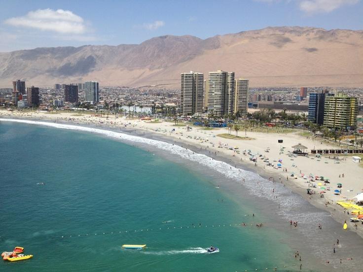 Cavancha, Iquique. Chile.