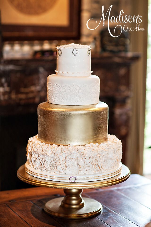Editor's Pick: Beautifully Embellished #Wedding #Cakes in Fresh New Ways. http://www.modwedding.com/2014/08/30/wedding-cake-inspiration/ #weddingcake
