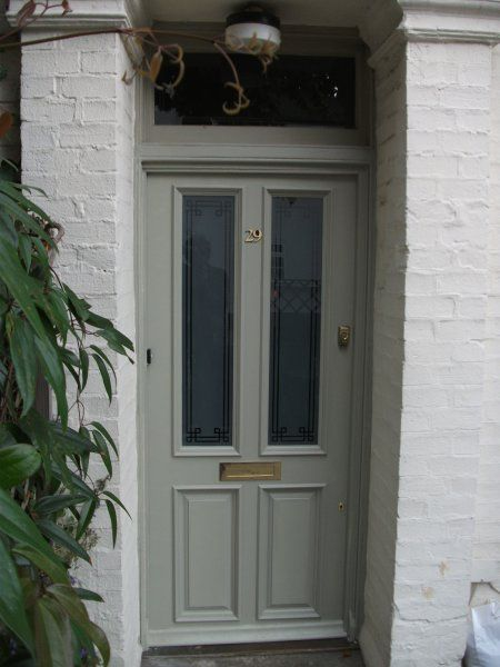 Farrow And Ball French Gray Painted Front Doors Google