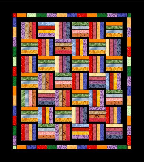 25+ best ideas about Rail Fence Quilt on Pinterest Easy quilt patterns, Quilt patterns and ...
