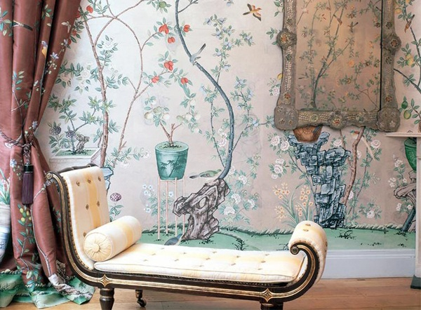 De gournay hand painted