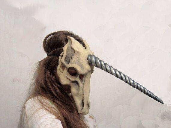 Hey, I found this really awesome Etsy listing at https://www.etsy.com/listing/228092455/unicorn-skull-mask