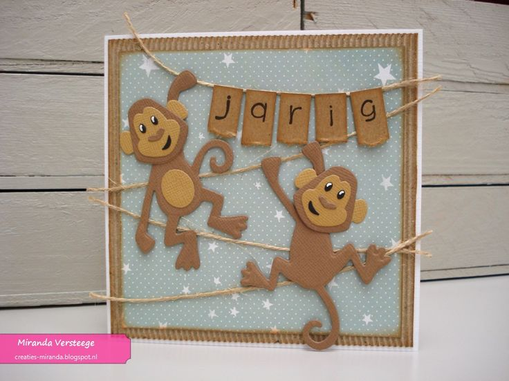 Miranda's Creaties - Themadag #81: Eline's monkeys
