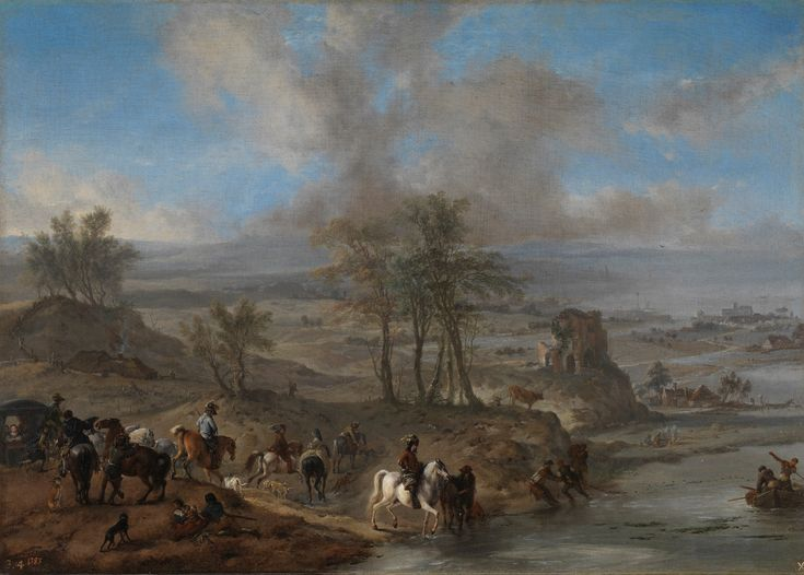 The Hunting Party, Philips Wouwerman