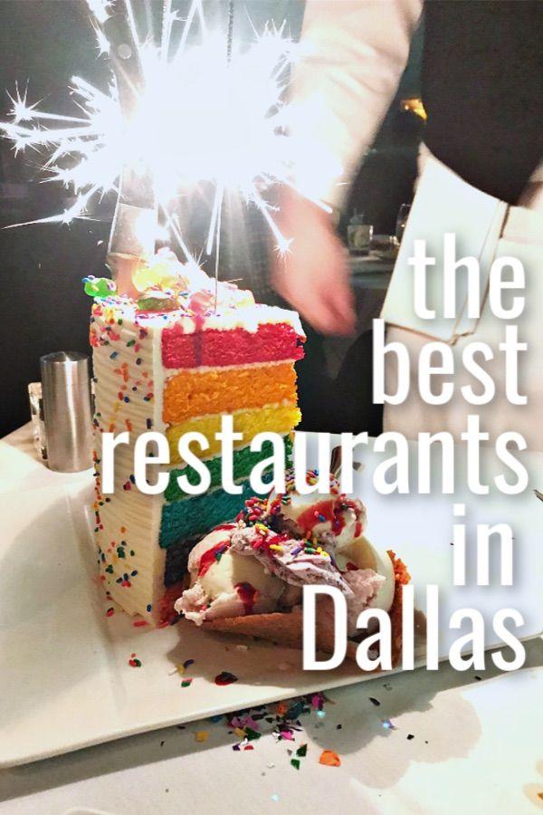 Restaurants In Dallas