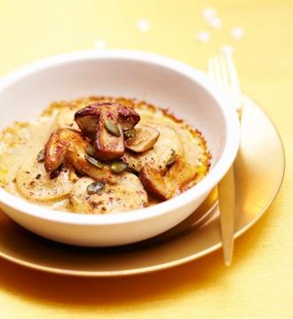 Cassolette de cèpes et boudin blanc, sauce foie gras #Picard. Consultez la recette sur http://www.picard.fr/IdeeFraiches/NosRecettes/cassolette_de_cepes_et_boudins_blancs_sauce_foie_gras2831.html?Retour=1=1