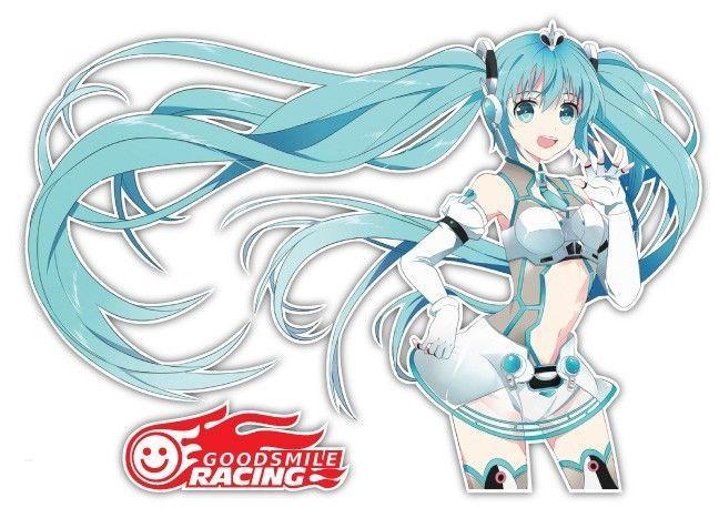 4 99 Vocaloid Racing Miku Hatsune Anime Car Window Bike Decal Sticker 075 Ebay Home Garden Anime Anime Car Miku
