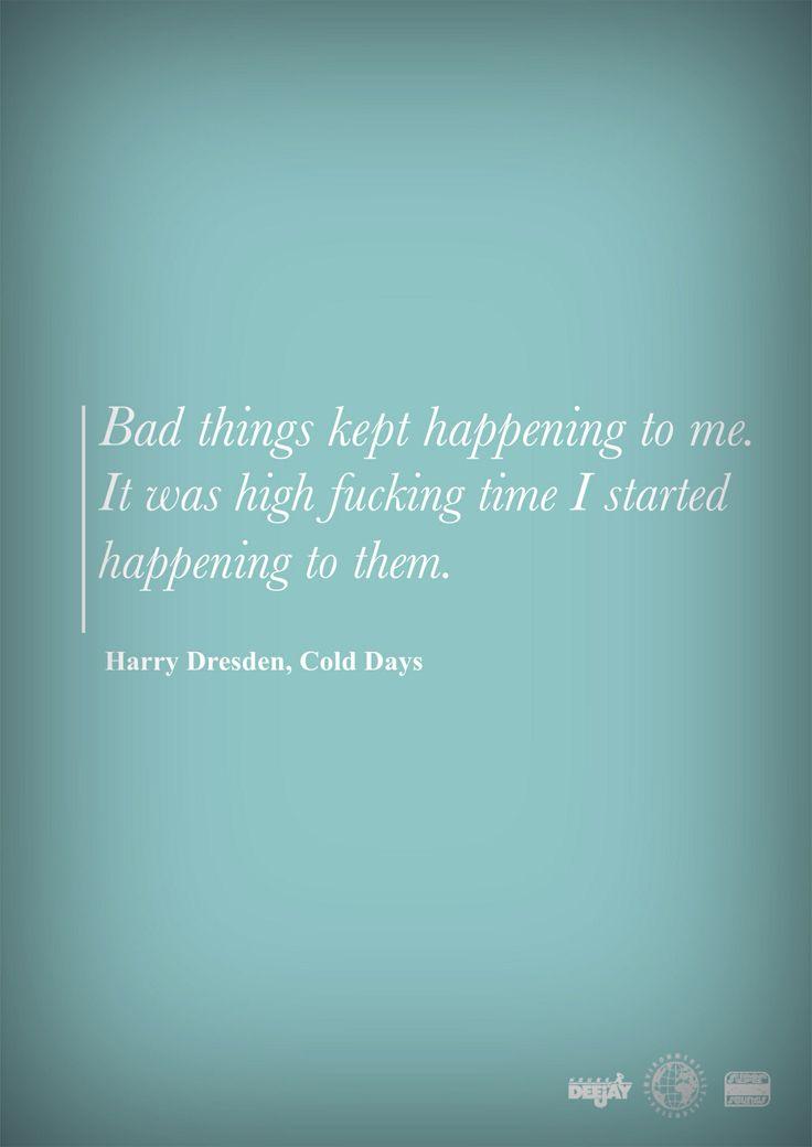 Harry Dresden, my guy. #DresdenFiles