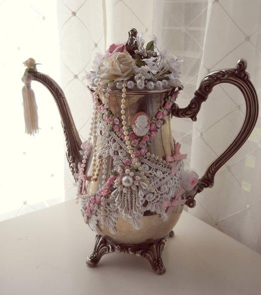 Best vintage teapots ideas on pinterest