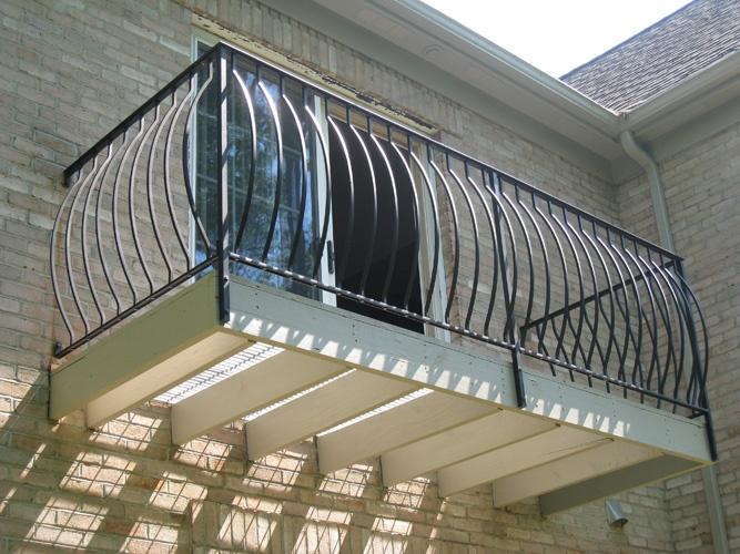 Ferforje Balkon Korkulukları 04