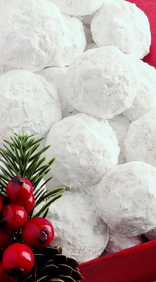 Simply the BEST! Buttery, never dry, with plenty of walnuts for a scrumptious melt-in-your-mouth shortbread cookie (also known as Russian Teacakes or Mexican Wedding Cookies). Everyone will LOVE these classic Christmas cookies!!