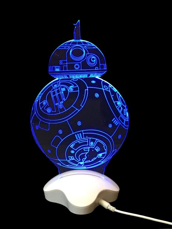 Bb 8 Led Night Light Lamp 3d Night Light Lamp Night Light Led Night Light