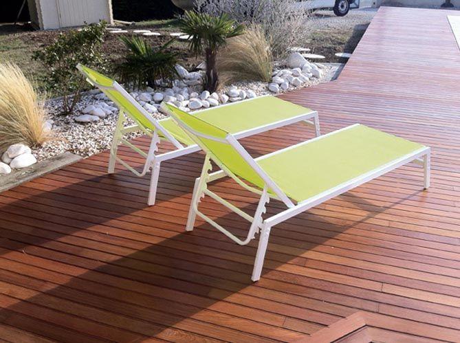 terrasse #transat #revetement #sol Photo : Terrasse en bois Ipé ...