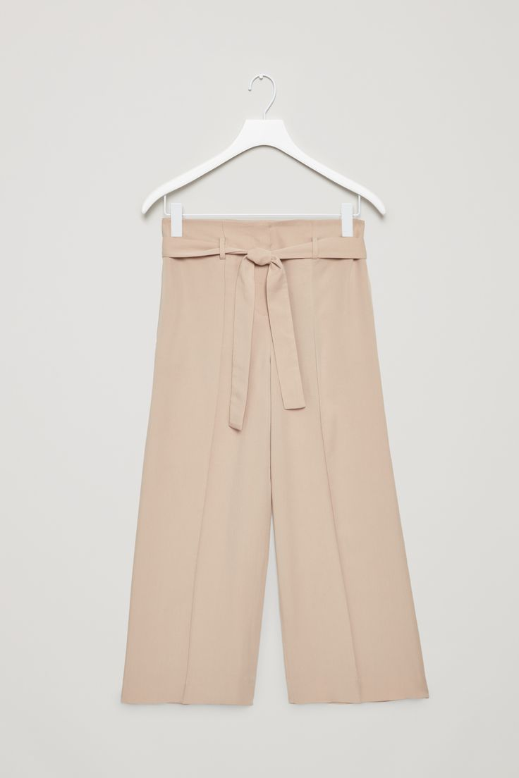 COS | Belted high-waist trousers