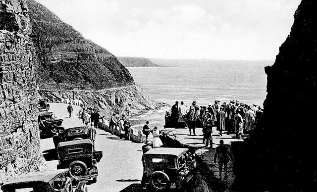 Chapman's Peak Drive Opened to the Public on 6th May 1922 | Flickr - Photo Sharing!
