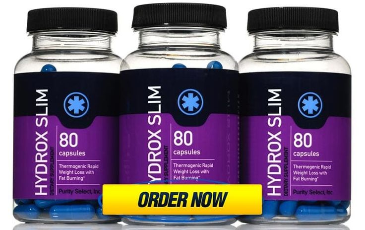 Hydrox Slim - Thermogenic Rapid Weight Loss Pills